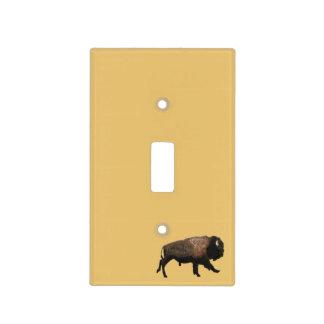 Bisonte galopante tapa para interruptor