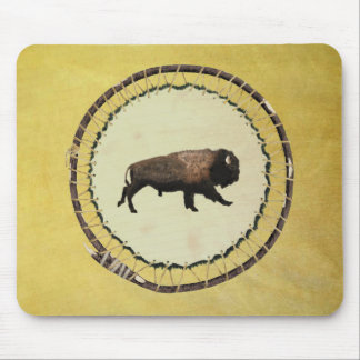 Bisonte galopante tapetes de raton