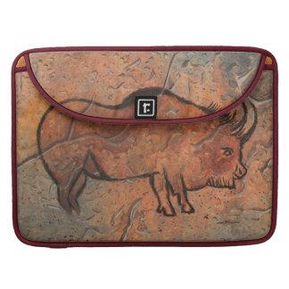 bisonte prehistórico funda para macbook pro