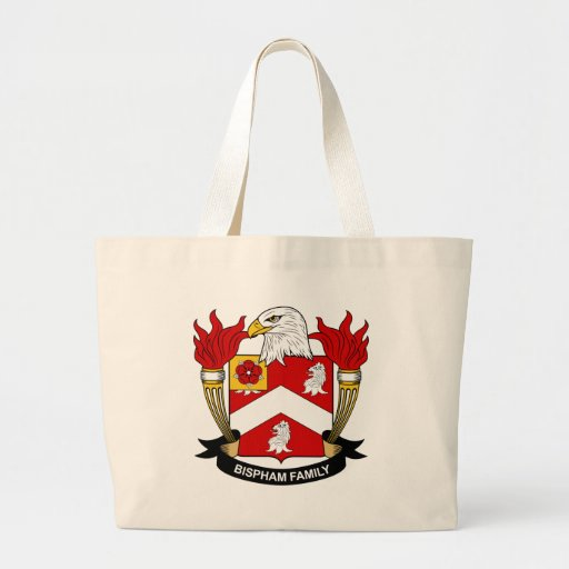 Bispham Family Crest Bags