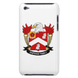 Bispham Family Crest Barely There iPod Cases