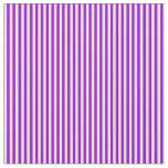 [ Thumbnail: Bisque and Dark Violet Colored Lines Fabric ]