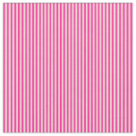 [ Thumbnail: Bisque and Deep Pink Pattern Fabric ]