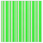 [ Thumbnail: Bisque and Lime Colored Lined/Striped Pattern Fabric ]