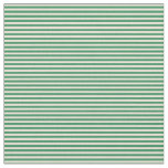 [ Thumbnail: Bisque and Sea Green Lined Pattern Fabric ]