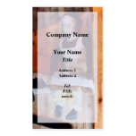 Bisque Doll for Sale Business Cards
