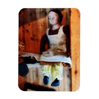 Bisque Doll For Sale Rectangular Photo Magnet