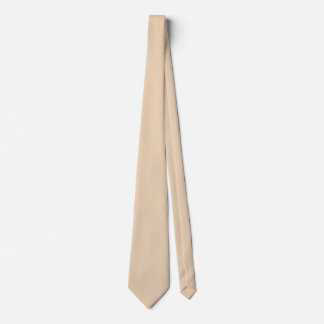 Bisque Double Sided Solid Color Tie