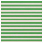 [ Thumbnail: Bisque & Forest Green Lined/Striped Pattern Fabric ]