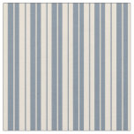 [ Thumbnail: Bisque & Light Slate Gray Lined Pattern Fabric ]