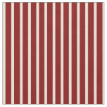 [ Thumbnail: Bisque & Maroon Colored Lines/Stripes Pattern Fabric ]