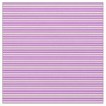 [ Thumbnail: Bisque & Orchid Striped/Lined Pattern Fabric ]