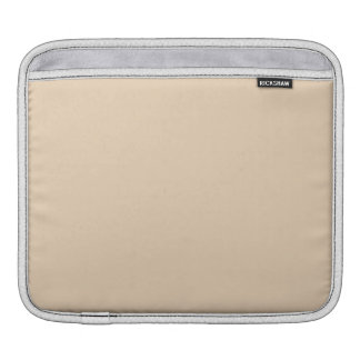 Bisque Solid Color iPad Sleeves