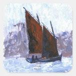 Bisquine Sail Boat Sticker