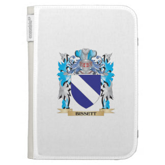 Bissett Coat of Arms Kindle 3 Cases
