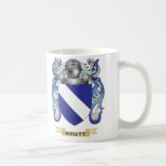 Bissett Coat of Arms (Family Crest) Coffee Mug