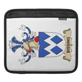 Bissing Family Crests iPad Sleeves