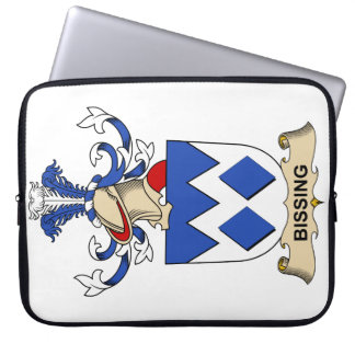Bissing Family Crests Laptop Sleeve