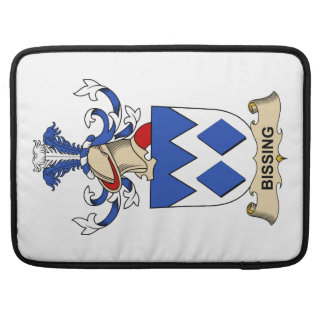 Bissing Family Crests Sleeves For MacBook Pro