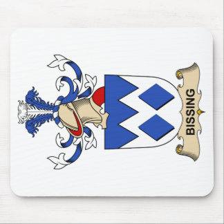 Bissing Family Crests Mouse Pad