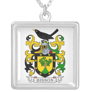 Bisson Coat of Arms Necklace