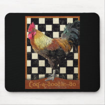 Bisto Rooster Mouse Pad