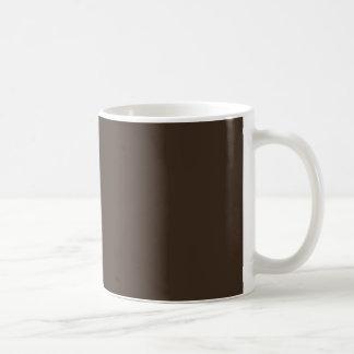 Bistre Brown Coffee Mug