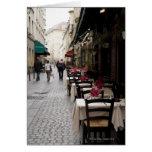 Bistro in Paris 2 Card