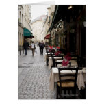 Bistro in Paris 2 Greeting Cards