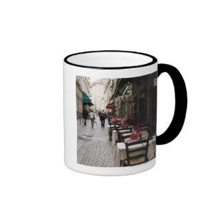 Bistro in Paris 2 Ringer Coffee Mug