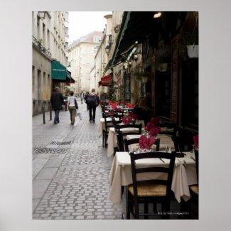 Bistro in Paris 2 Posters