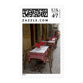 Bistro in Paris Postage
