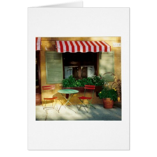 Bistro ~ Note Card