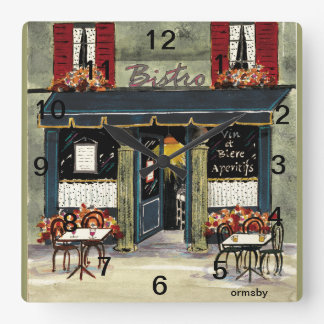 Bistro Wall Clock