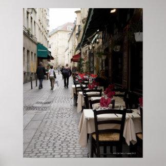 Bistros en París 2 Poster