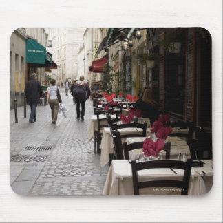 Bistros en París 2 Tapetes De Raton