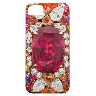 Bisutería atractiva de los diamantes artificiales funda para iPhone SE/5/5s