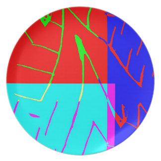 Bit Given 3 Melamine Plate