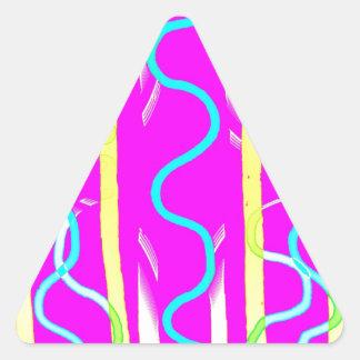 Bit Given 8 Triangle Sticker