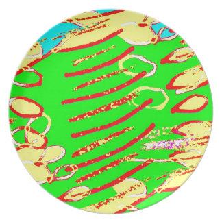 Bit Given 9 Melamine Plate