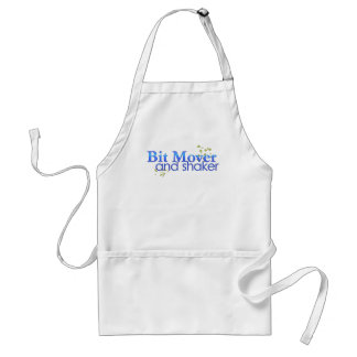Bit Mover and Shaker Aprons
