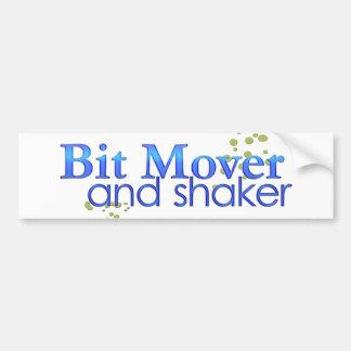 Bit Mover and Shaker Bumper Sticker