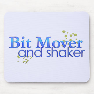 Bit Mover and Shaker Mouse Pad