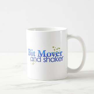 Bit Mover and Shaker Classic White Coffee Mug