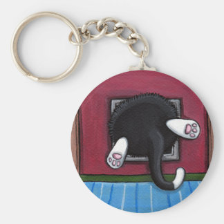 Bit of a Squeeze Keychain