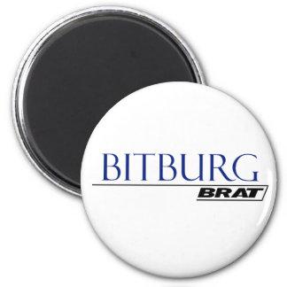 Bitburg Brat -A001L 2 Inch Round Magnet