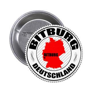 Bitburg Passport Stamp Pin