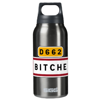 Bitche, Road Sign, France Insulated Water Bottle