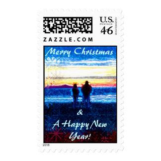 Bitchen Beaches Christmas Stamp
