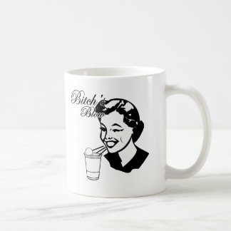 Bitchs Blow Classic White Coffee Mug